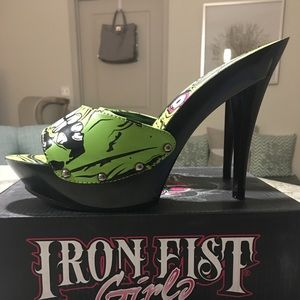 Iron Fist Twitcher Platform Mule / Slide